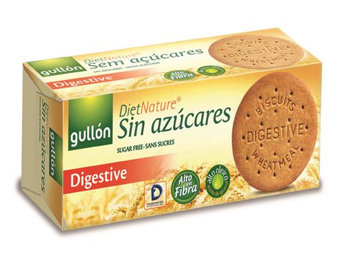 BOLACHA GULLON DIGESTIVE DIET NATURE 400G image number 0