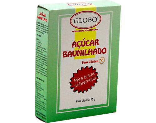 AÇÚCAR GLOBO BAUNILHADO 70G image number 0
