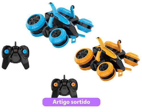 CARRO R/C OBE 2.4G ONE TWO FUN LAT WHEELS STUNT CAR image number 0