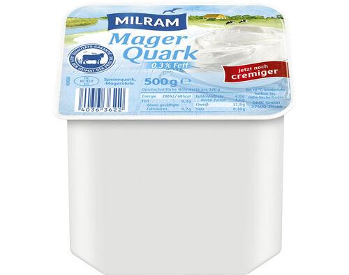 QUARK MILRAM NATURAL 0.3% 500G image number 0