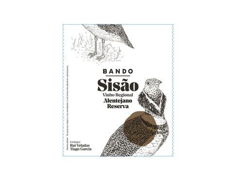 VINHO BANDO SISÃO TINTO REGIONAL ALENTEJANO RESERVA 0.75L image number 1