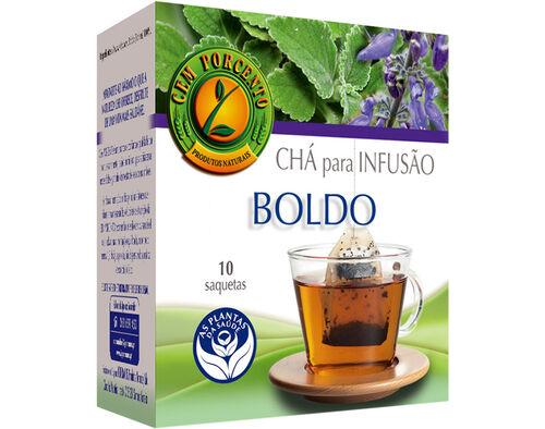 CHÁ CEM PORCENTO BOLDO 10 SAQ image number 0