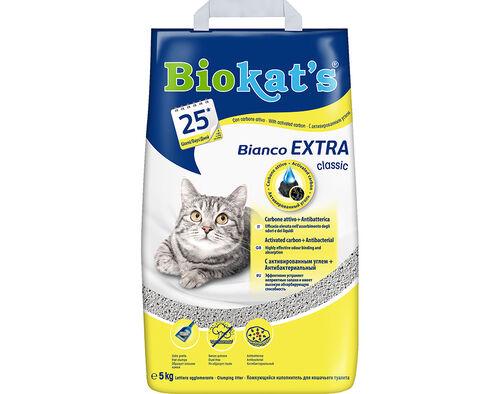 AREIA P/ GATO BIOKAT'S EXTRA CLASSIC 5 KG image number 0