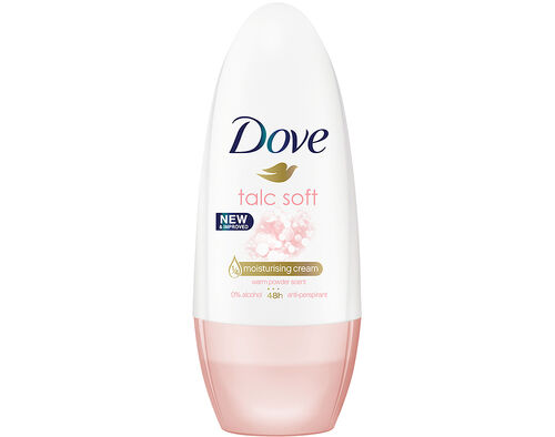 DEO ROLL ON DOVE TALCO 50 ML image number 0