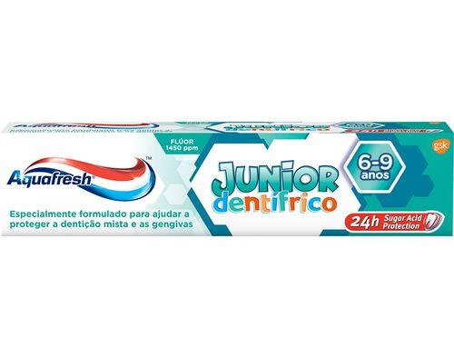 PASTA DENTÍFRICA AQUAFRESH JUNIOR 50 ML image number 0