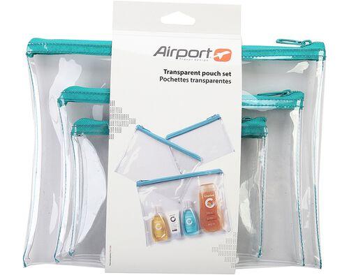 SET BOLSAS AIRPORT TRANSPARENTES image number 0