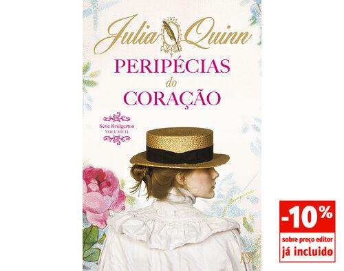 LIVRO PERIPECIAS DO CORAÇÃO JULIA QUINN image number 0