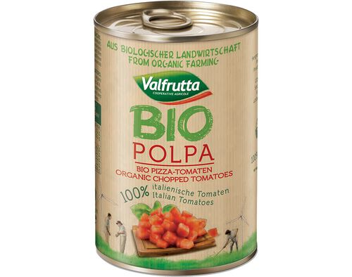 POLPA VALFRUTTA 100% ITALIANO TOMATE BIO 400G image number 0