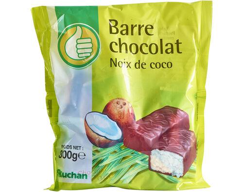 BARRAS POLEGAR CHOCOLATE COM COCO 300G image number 0