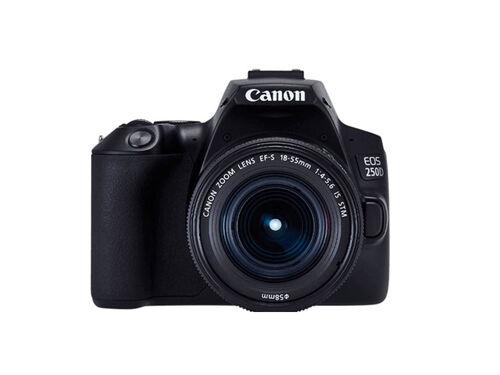 MÁQUINA FOTOGRÁFICA REFLEX CANON EOS 250D + EF-S 18-55MM F/3.5-5.6 II DC image number 0
