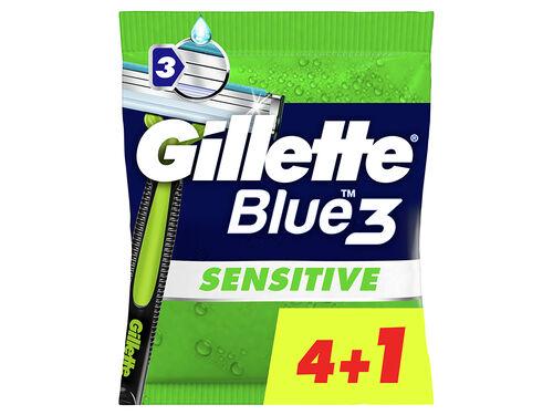 MÁQUINA DESCARTÁVEL GILLETTE SENSITIVE 3 4+1 UN image number 0