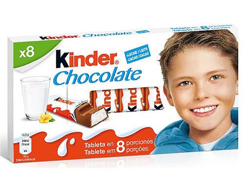 CHOCOLATE KINDER T8 100G image number 0