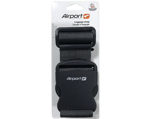 CINTO P/BAGAGEM AIRPORT PRETO image number 0