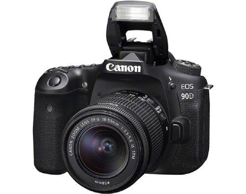 MÁQUINA FOTOGRÁFICA REFLEX CANON EOS 90D + EF-S 18-55MM F/3.5-5.6 IS STM image number 1
