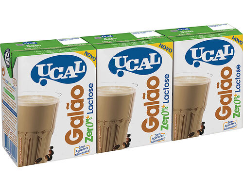 GALÃO UCAL 0% LACTOSE 3X200 ML image number 0