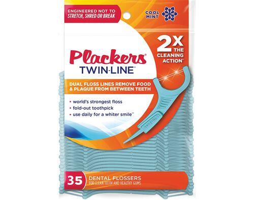 APLICADOR DESCARTAVEL PLACKERS FIO DENTARIO TWIN-LINE 35UN image number 0