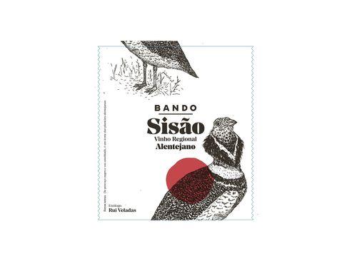 VINHO BANDO SISÃO TINTO REGIONAL ALENTEJANO 0.75L image number 1