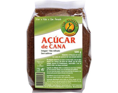 AÇÚCAR CEM PORCENTO CANA INTEGRAL 500G image number 0