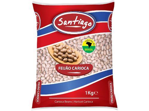 FEIJÃO SANTIAGO CARIOCA 1KG image number 0