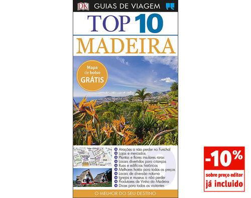 LIVRO GUIAS DE VIAGEM TOP 10 MADEIRA image number 0