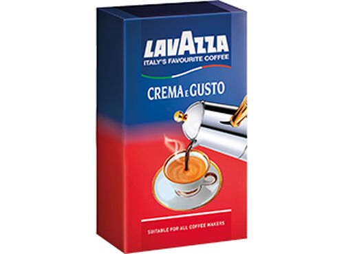 CAFE LAVAZZA MOÍDO CREMA E GUSTO 250G image number 0