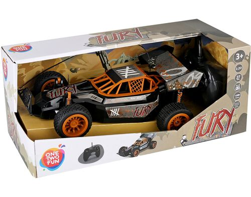 CARRO BUGGY ONE TWO FUN FURY 26CM image number 0