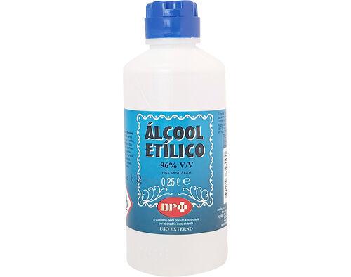 ALCOOL SANITARIO DPH 96% V/V 250ML image number 0