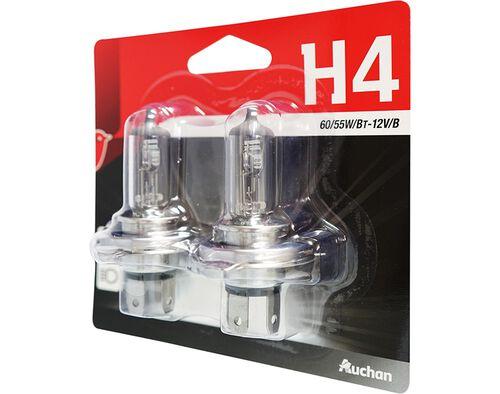 LAMPADAS AUTO AUCHAN H4 12V 60/55W 2UN image number 0