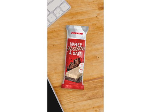 BARRA PROZIS WHEY PROTEIN & OATS CHOCOLATE 80G image number 1