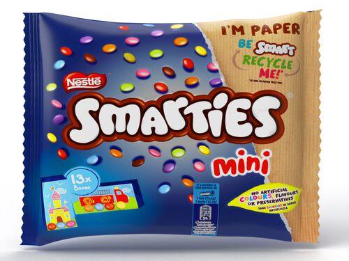 CHOCOLATE SMARTIES MINI 187G image number 1