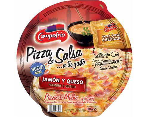 PIZZA CAMPOFRIO DE FIAMBRE E QUEIJO 360G image number 0