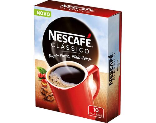CAFÉ NESCAFÉ SOLÚVEL COM CAFEÍNA 10X2G image number 0