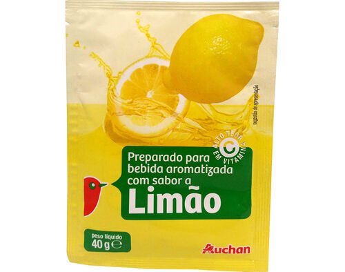 BEBIDA AUCHAN INSTANTÂNEA LIMÃO 40G image number 0