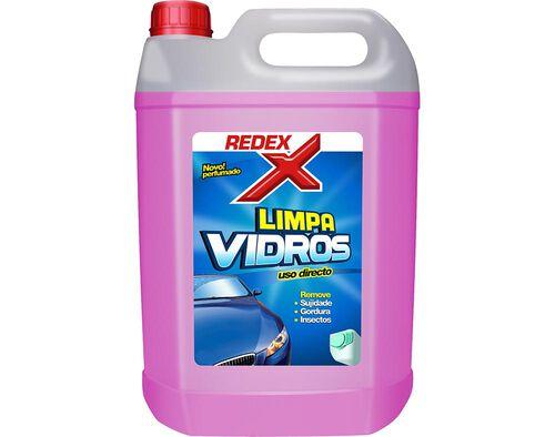 LIMPA VIDROS REDEX ROSA 5 LT image number 0