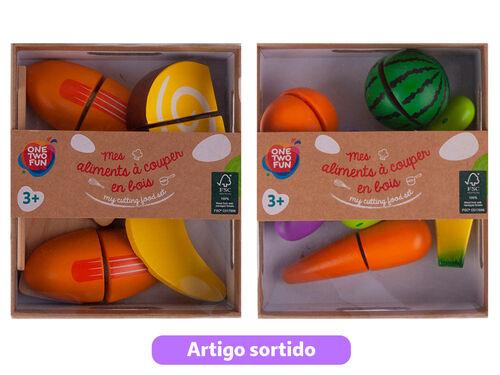 SET DE ALIMENTOS ONE TWO FUN EM MADEIRA image number 0