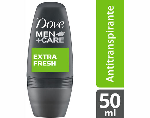 DEO ROLL ON DOVE FOR MEN EXTRA FRESH 50 ML image number 0