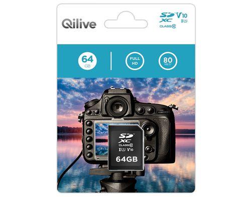 CARTÃO MEMÓRIA SD QILIVE 64GB A808124 image number 0
