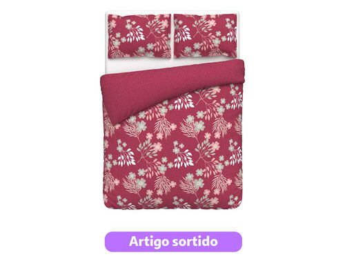 CAPA DE EDREDÃO ACTUEL MAUD/ANNIE PERCALE WW 260X240 image number 1