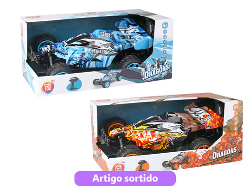 CARRO R/C ONE TWO FUN 1:10 2.4G MONSTER II image number 0