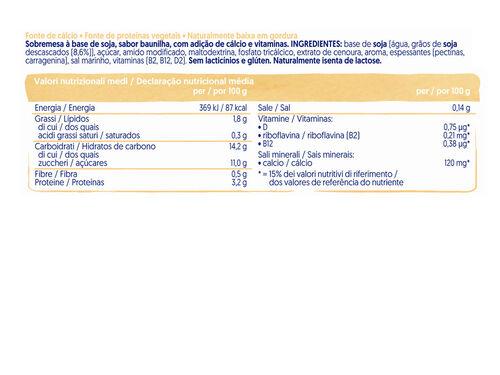 SOBREMESA ALPRO SOJA E BAUNILHA 4X125G image number 1