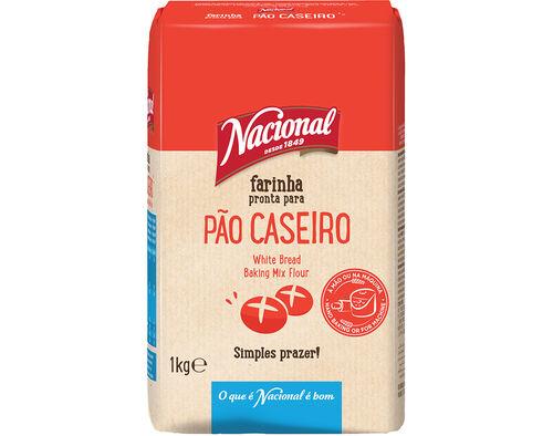 FARINHA NACIONAL PREPARADA P/PAO CASEIRO 1 KG image number 0