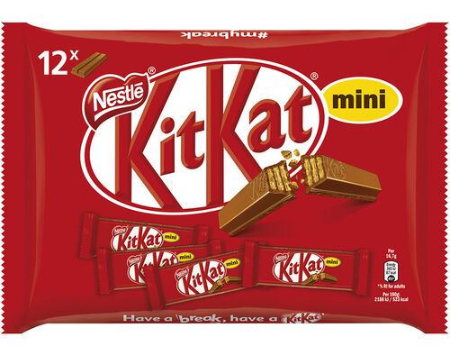 CHOCOLATE KIT KAT SNACK MINI 200G image number 0