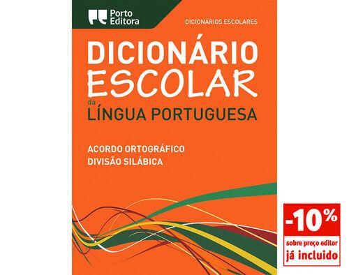 DICIONAR ESCOLAR PORTO EDITORA LINGUA PORTUGUESA image number 0