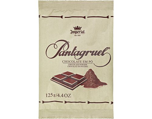 CHOCOLATE PANTAGRUEL EM PÓ 125G image number 0