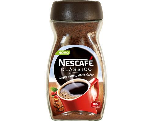 CAFÉ NESCAFÉ SOLÚVEL CLÁSSICO COM CAFEÍNA 200G image number 0