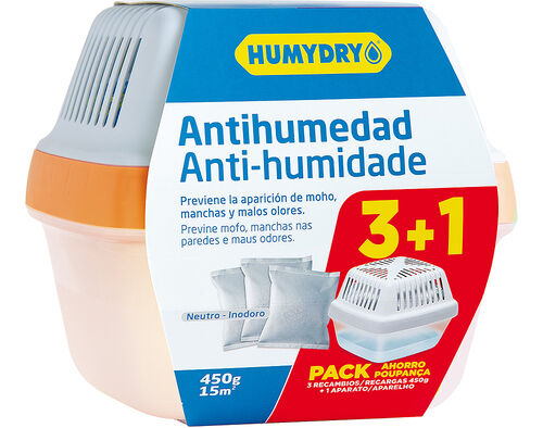 ANTI HUMEDADE HUMYDRY PREMIUM PLUS 3+1 450G image number 0