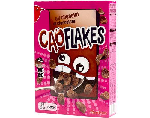 CEREAIS AUCHAN CAO FLAKES COM CHOCOLATE 750G image number 0