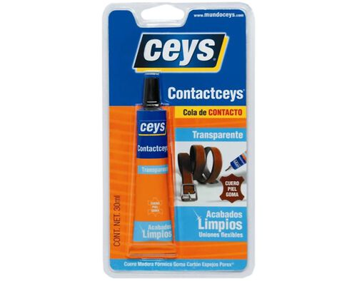 COLA CONTACTCEYS CEYS TRASPARENTE 30 ML image number 0