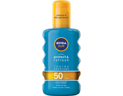 PROTECTOR NIVEA SOLAR SPRAY INVISIBLE FPS 50 200ML image number 0