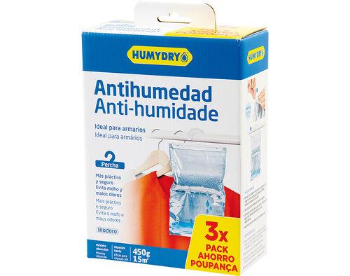 CABIDE ANTI HUMIDADE HUMYDRY INODORO 3 X450G image number 0